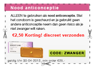 morning afterpil nood anticonceptie